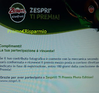 Logo Gioca e vince un Mixer con '' Zespri ti premia''