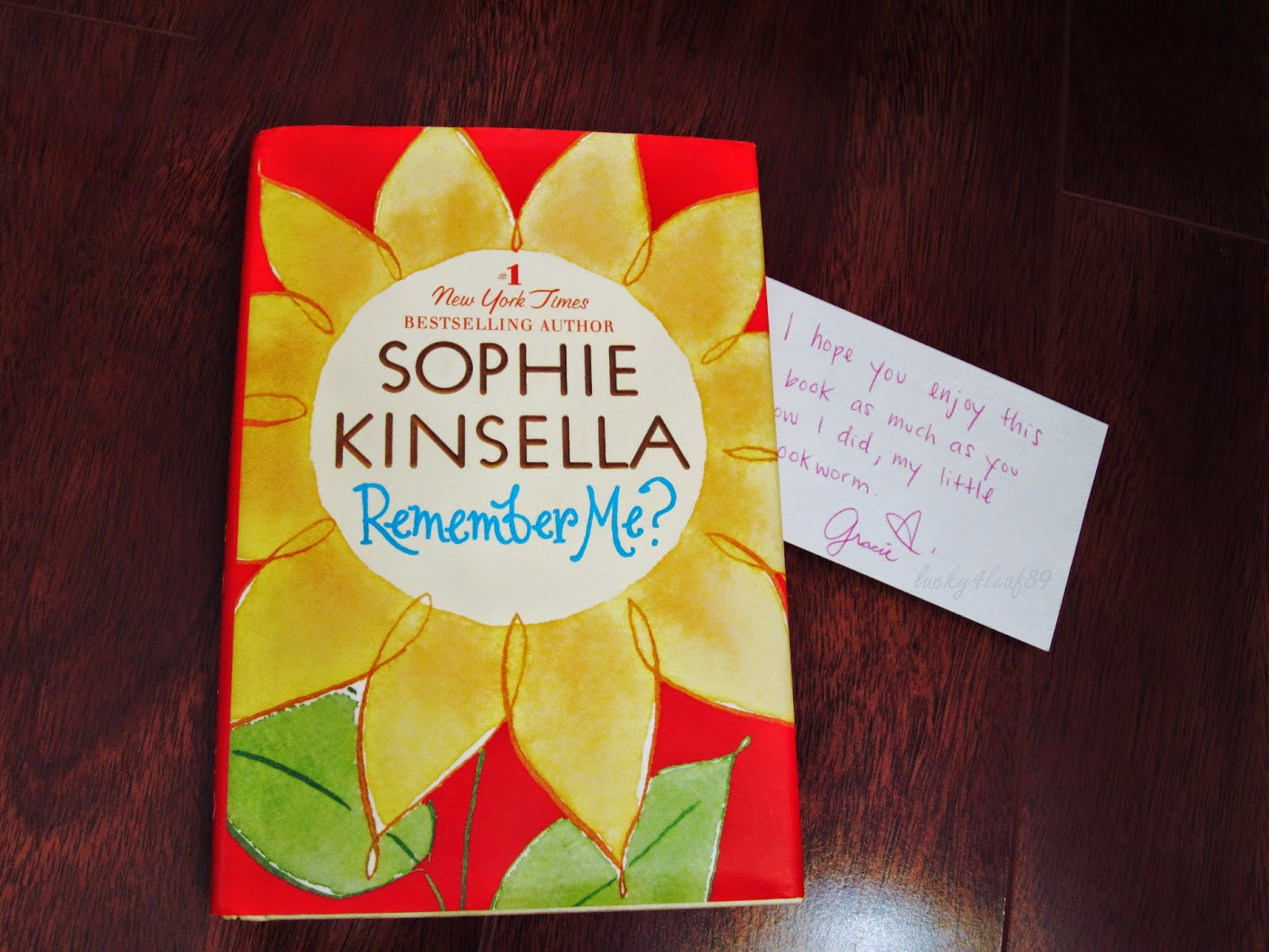 remember me sophie kinsella Remember me by sophie kinsella available in hardcover on powellscom, also read synopsis and reviews hot on the heels of her latest #1 new york times bestseller, shopaholic & baby, comes the first.