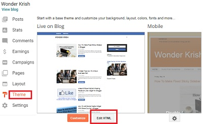 How To Add Automatic Page Scroll Widget In Blogger