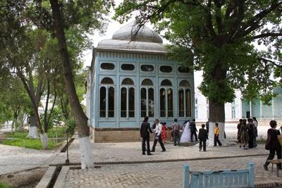 uzbekistan holidays, group tours uzbekistan, bukhara summer palace