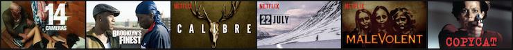 Netflix Codes - Thrillers