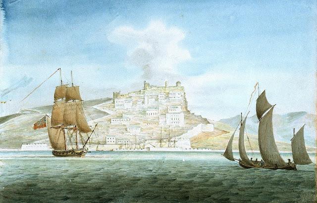 Vista Cagliari XIX secolo