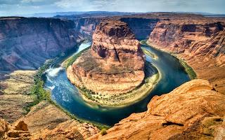 spetakuler view dari atas grand canyon