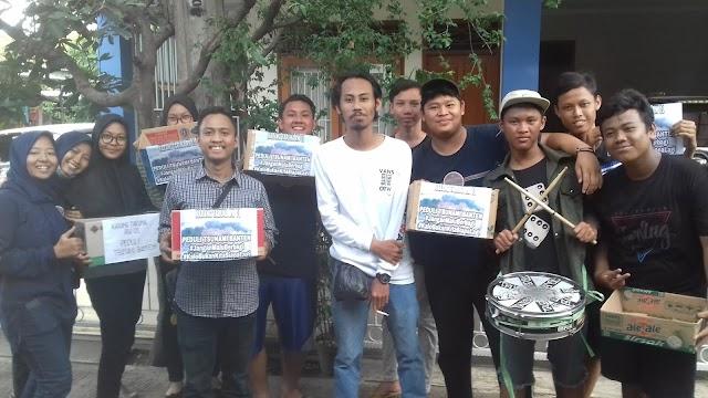 Katar RW 01 Kelurahan Beji Galang Dana Korban Tsunami Banten