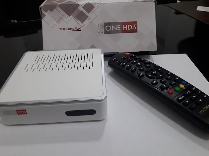 TOCOMLINK CINE HD 3 O MAIS NOVO LANÇAMENTO DA MARCA IMAGENS EXCLUSIVAS CONFIRAM - 27/03/2019
