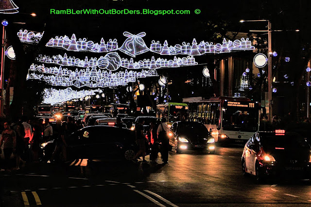 Christmas Light Up, Orchard Road, Singapore