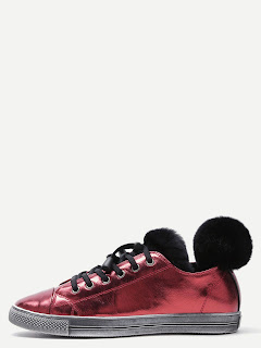 http://www.shein.com/Burgundy-Fur-Trim-Cow-Leather-Low-Top-Sneakers-p-329298-cat-1913.html aff_id=8363