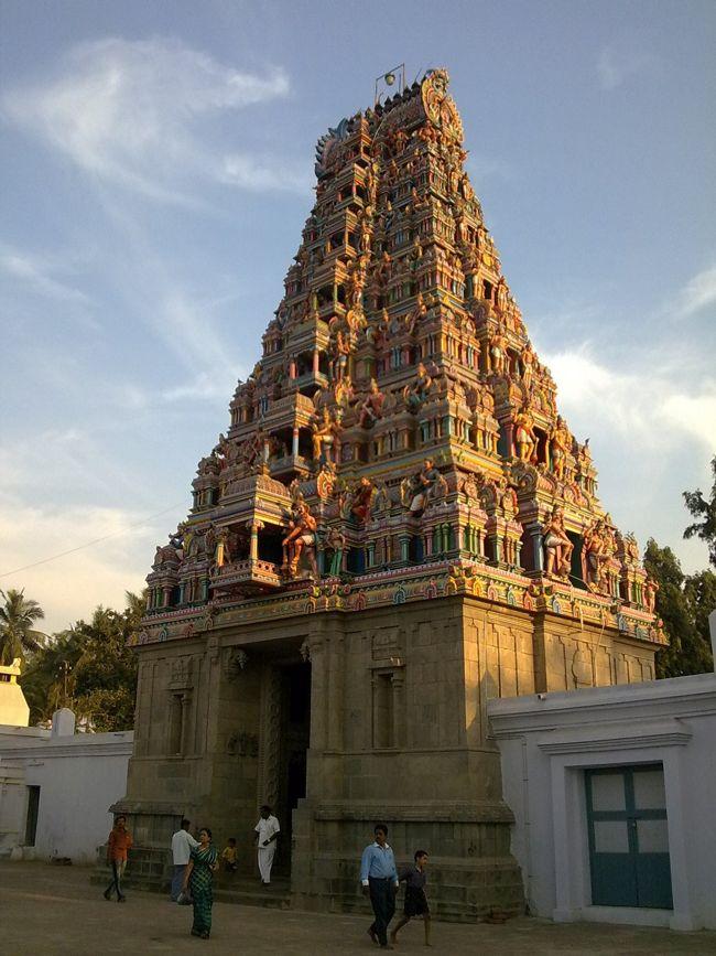 7-tier Raja Gopuram At Sri Kovur Sundareswarar Temple