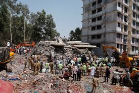 Indian building collapse 2016