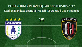 Jadwal Siaran Langsung Liga 1 Rabu 9 Agustus 2017 - Live Streaming