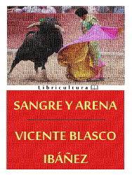 Portada del libro Sangre y arena para descargar en pdf gratis