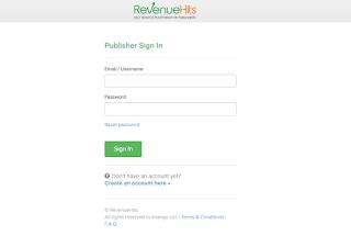 Cara Mendaftar dan Mendapatkan Uang Dari RevenueHits