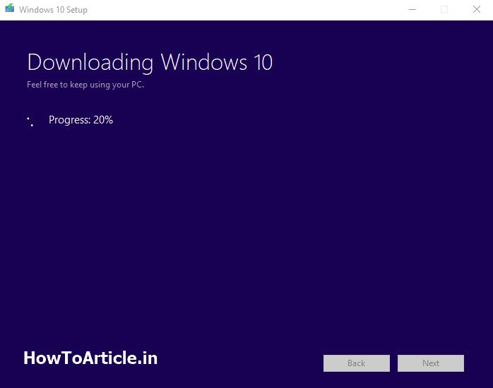Download Windows 10 Upgrade