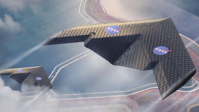 La NASA y el MIT diseñan un nuevo tipo de ala que se deforma automáticamente en función de las condiciones de vuelo