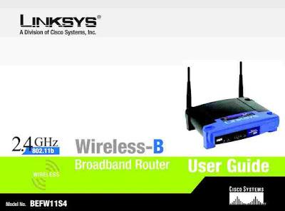 Linksys BEFW11S4 User Manual