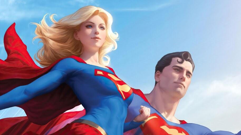 Superman and Supergirl, 4K, #6.2149