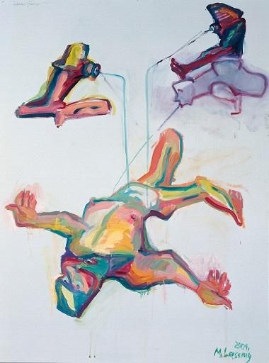 by Maria Lassnig - Pescatori di idee - 2001