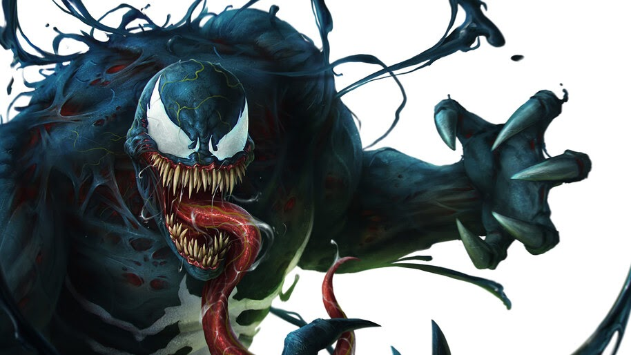 Venom, Marvel, Comics, 4K, #4.2940