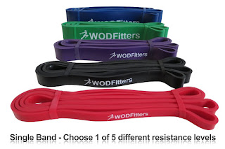 WODFitters Pull Up Assist Band and Stretch Resistance Band