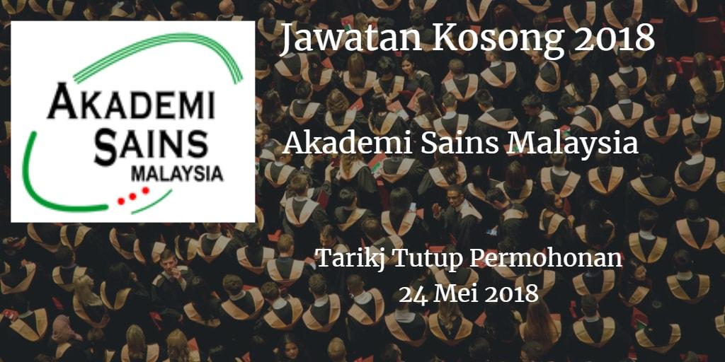 Jawatan Kosong ASM 24 Mei 2018
