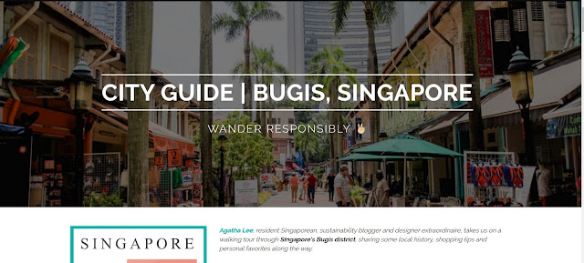 City Guide Singapore Sustainable Options