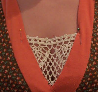 Tapar un Escote pronunciado con Crochet
