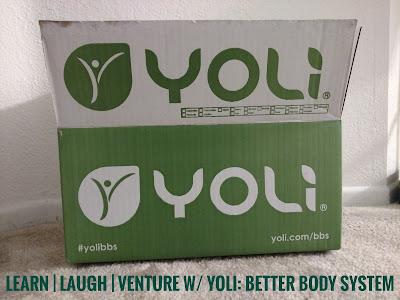 Photo of an opened Yoli box