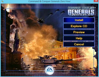 Command & Conquer Generals Zero Hour Kurulumu