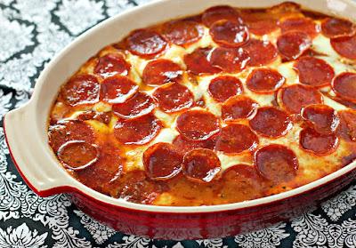 http://www.culinaryenvy.com/pepperoni-pizza-chicken-bake/