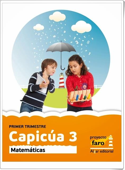 """""""Capicúa 3"""".  Actividades digitales de Matemáticas de 3º de Primaria. Ediciones Bromera."""