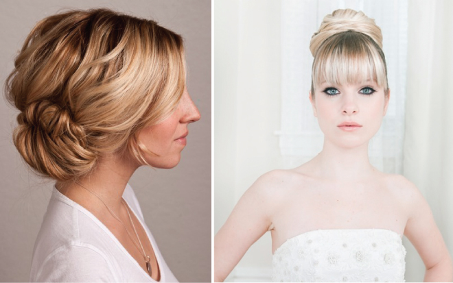 Astonishing 10 Gorgeous Wedding Hair Tutorials Belle The Magazine Short Hairstyles For Black Women Fulllsitofus