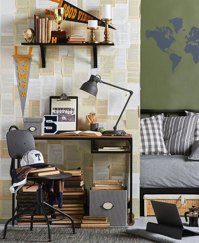 Decorating Ideas > 10 Rad Dorm Decor Ideas From IKEA Stylists  Poppytalk ~ 074938_Ikea Dorm Room Decorating Ideas