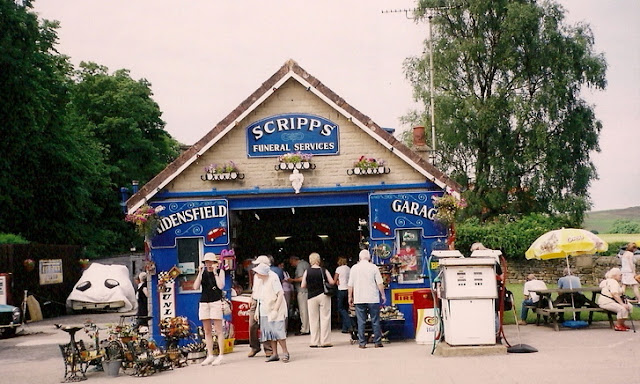 Bernie Scripps' garage from the tv show Heartbeat