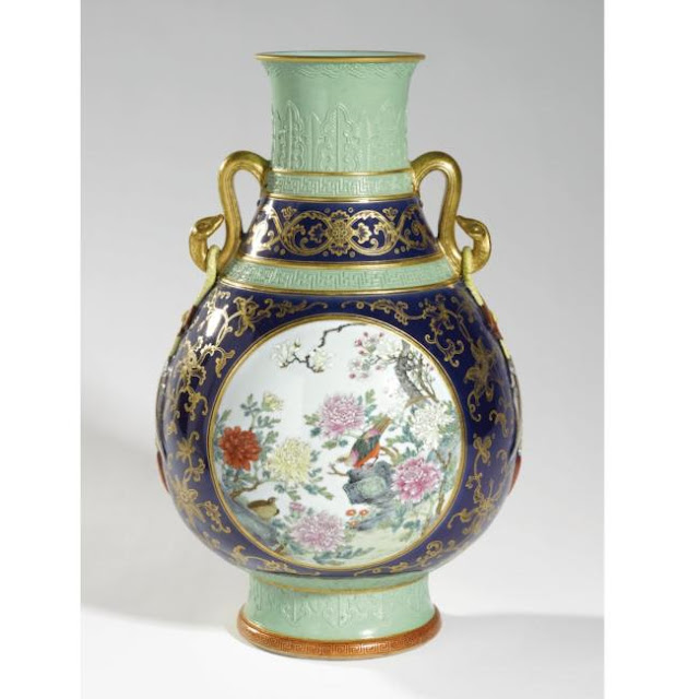 Chinese Vase sold for $18 million by Sotheby's