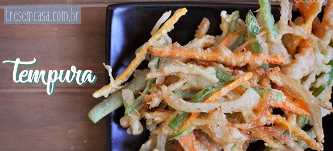 tempura receita