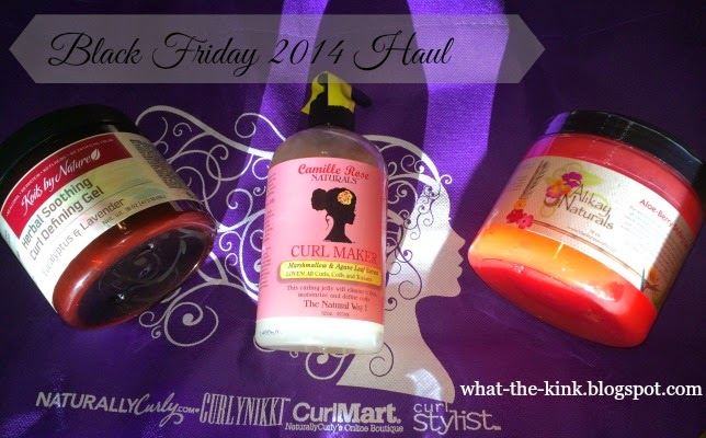 Natural Hair Black Friday Haul - What The Kink?!