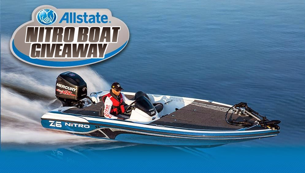 Allstate 2015 Nitro Boat Giveaway