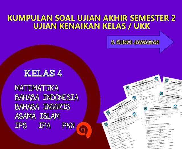 Download Soal UKK Kelas 4 SD/MI 2016 dan Kunci Jawaban ~ Rief Awa Blog : Download Kumpulan Soal