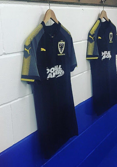 4825d236eae Puma AFC Wimbledon 17-18 Third Jersey. This is the new ...