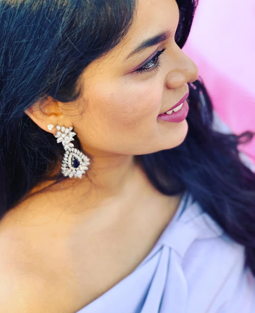 Srija Konidela Diamond Necklace