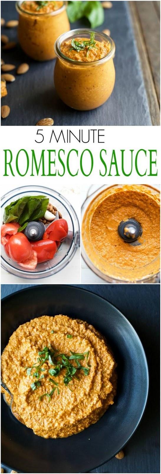 5 Minute Romesco Sauce