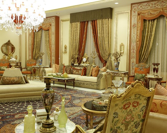 Top 7 arabic living room design ideas for your home for Arabic decoration