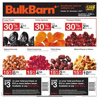 Bulk Barn Ontario Flyer October 19 - November 01, 2017
