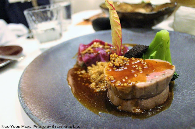 Berkshire Pork Tenderloin at Gabriel Kreuther in New York City