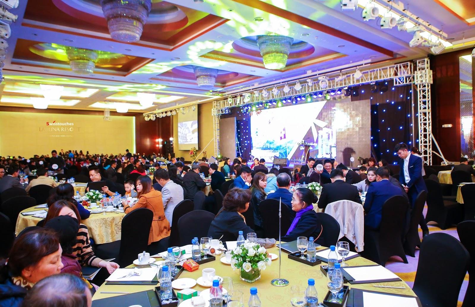 Ảnh sự kiện mở bán dự án La Luna Nha Trang