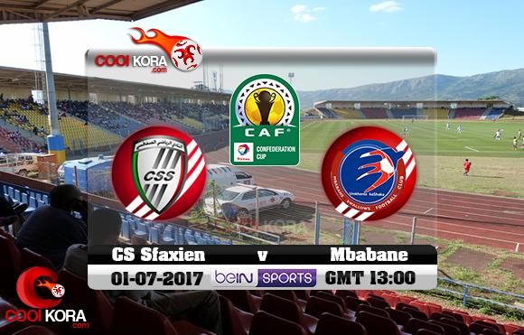 مشاهدة مباراة إمبابان سوالوز والصفاقسي اليوم 2-7-2017 كأس الإتحاد الأفريقي