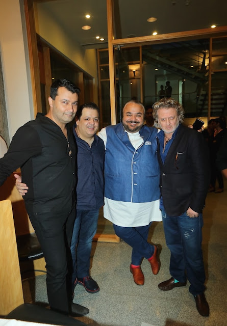 Ashish Soni,Rohit Gandhi, JJ Valaya and Rohit Bal at #GETNOTICED female and male model auditions for the Amazon India Fashion Week Spring-Summer 2017, in association with Maybelline New York