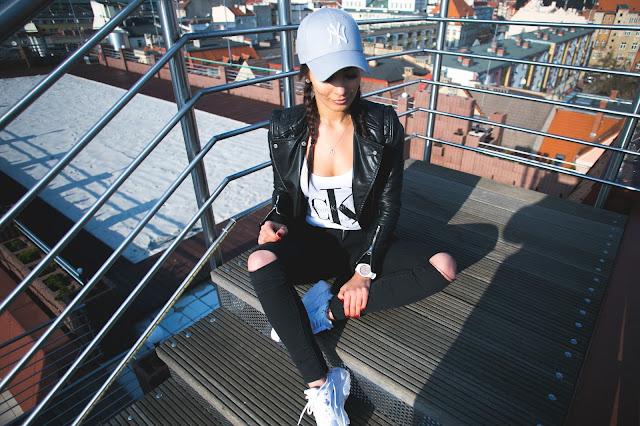 Nike Huarache * New Era Cap * Black look* - Czytaj więcej