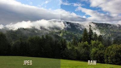 JPEG і RAW