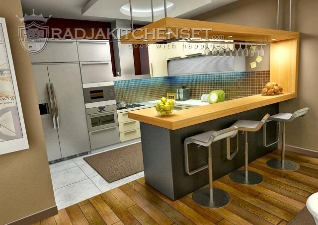 Lengkapi Ruangan Dapur Anda Dengan Kitchen Set Plus Minibar Radja